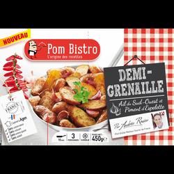 Demi pomme de terre grenaille au piment d'Espelette Pom bistro, 450g