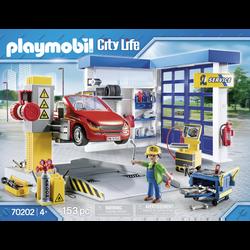 Playmobil City Life - Garage automobile - 70202 -  Dès 4 ans