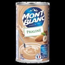 Crème dessert au praliné MONT BLANC, 570g