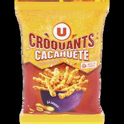 Croquant goût cacahuète U, 90g