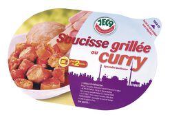 Saucisse curry, JECA, 200g