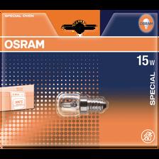 Ampoule tube pour four OSRAM, 230V 15W E14, claire