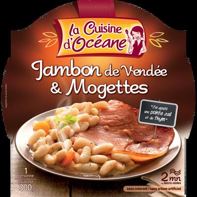 Jambon et mogettes de Vendée LA CUISINE D'OCEANE, 300g