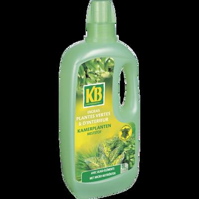 Engrais liquide pour plantes vertes d'intérieur KB, 1l