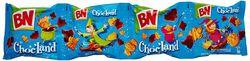 Biscuit au chocolat, BN Choc'Land, 4x37,5g, paquet de 150g
