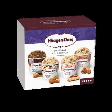 Häagen-Dazs Minicups Original Collection Häagen Dazs, 324g