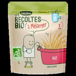 Céréales riz Les Recoltes Bio dès 6 mois, 180g
