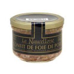 VERRINES CONFIT FOIE PORC BOCAL190G LA NAUCELLOISE
