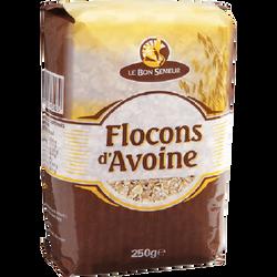 Flocon d'avoine Bon Semeur, paquet de 250g