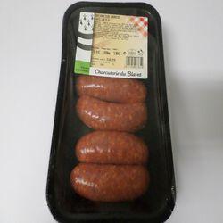 Mini saucisse chorizo à griller x6, CHARCUTERIE DU BLAVET, 400g