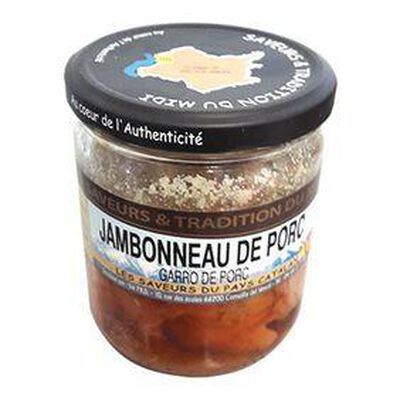 Jambonneau de porc, bocal de 350g,  SAVEURS ET TRADITION DU MIDI