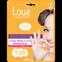 Masque réparateur pour les mains, LOUA, x1
