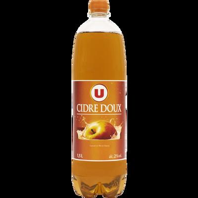 Cidre doux U pet,2°,1,5l