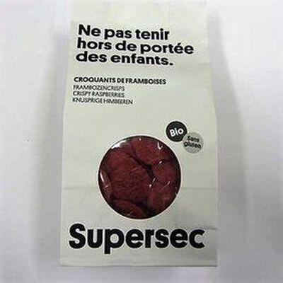 Croquants de framboises SUPERSEC,40g
