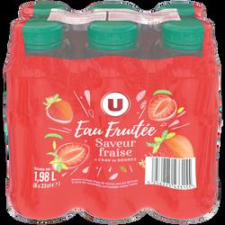 Boisson à l'eau de source aux jus de fruits abc - Aromatisée saveurFraise MAT&LOU 6x33cl