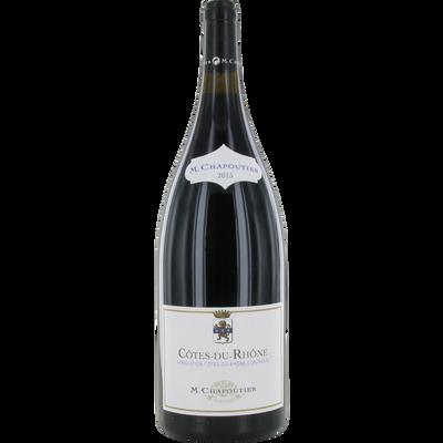 Côtes du Rhône AOP rouge Michel Chapoutier, bouteille de 1,5 litre