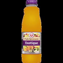 Jus exotique source 10 vitamines fruits gourmands U, 1l