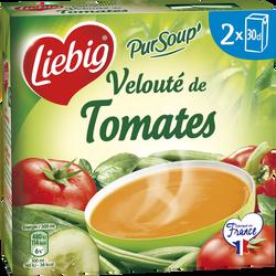 Pursoup velouté de tomates LIEBIG, 2 brique de 30cl