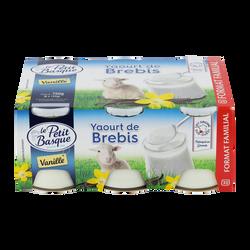Yaourt de brebis vanille LE PETIT BASQUE 4x125g 500g
