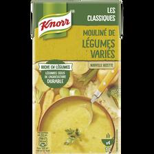 Mouliné de légumes variés riche en légumes KNORR, brique de 1 litre