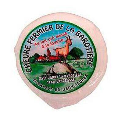 Chabis frais fermier au lait cru LA BAROTIERE, 10%MG, 220g