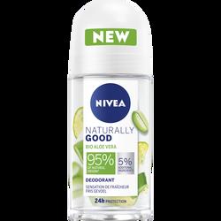 Déodorant aloe vera NATURALLY GOOD nivéa bille 50ml
