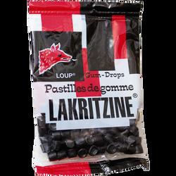 Pastilles de gomme Lakritzine LOUP, 100g
