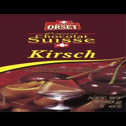 Tablette kirsch liquide ORSET, 100g