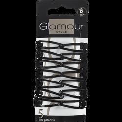 Clic clac noirs, G304 GLAMOUR PARIS