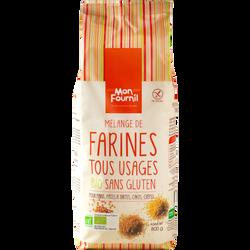Farine tous usages bio sans gluten MON FOURNIL, 800g