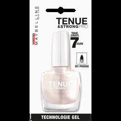 "Vernis à ongles ""Tenue et strong"" n°77 blanc nacré - blister MAYBELLINE"