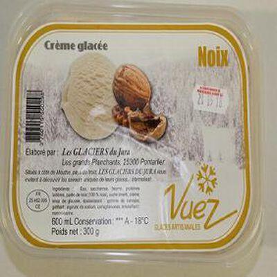 CREME GLACEE NOIX BAC DE 600ML
