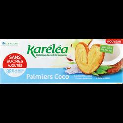 Palmier aromatisé coco avec édulcorant KARELEA étui 100g