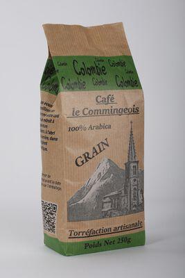 CAFE COLOMBIE GRAINS LE COMMINGEOIS 250G