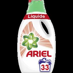 Lessive liquide sensitive ARIEL, 33 doses soit 1,815L