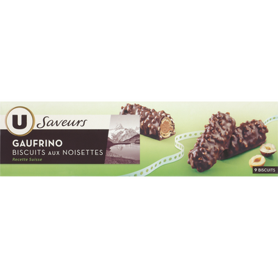 Gaufrino U SAVEURS, paquet de 100g