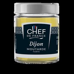 Moutarde forte de Dijon CHEF DE FRANCE, pot de 190g