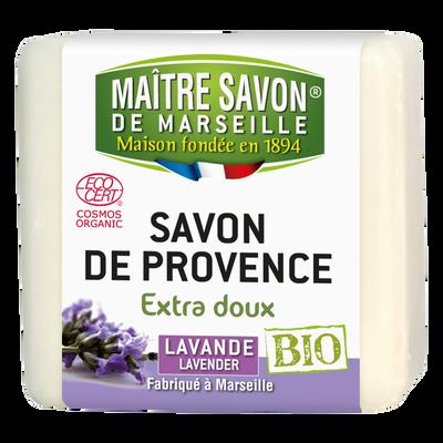 Savon bio lavande MAITRE SAVON DE MARSEILLE, 100g
