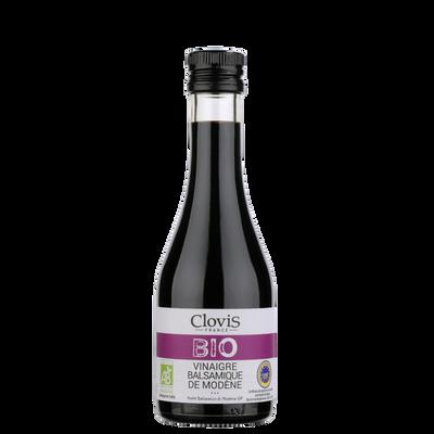 Vinaigre balsamique de Modène bio CLOVIS, 25 cl
