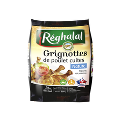 Grignotte nature, REGHALAL, sachet, 250g