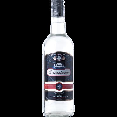 Rhum blanc agricole de la Guadeloupe DAMOISEAU, 50°, bouteille de 1l