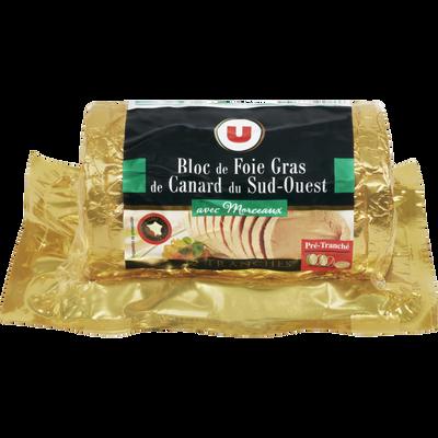 Bloc foie gras 30% IGP Sud Ouest U, 12 tranches, 480g
