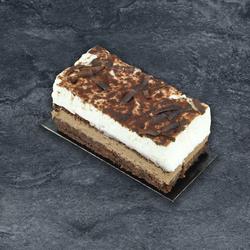 Entremets chocolat façon liègeois décongelé, 2 pièces, 165g