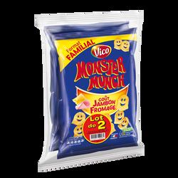 MONSTER MUNCH goût jambon/fromage 2x135g