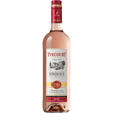 "Vin rosé AOC Bordeaux ""Cellier Yvecourt"", 75cl"