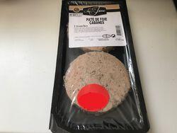 Paté de foie Cabanes, JASSE LARZOU, 2 tranches, 200g