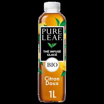 Pure Leaf Lipton Infusé Glacé Saveur Citron De Sicile Bio Pure Leaf 1l