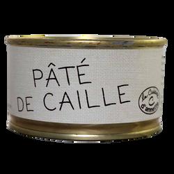 Pâté de caille LA CUISINE D'ANNETTE, 130g