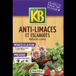 Anti-limaces/escargots KB, 1kg, appats granulés prêt à l'emploi