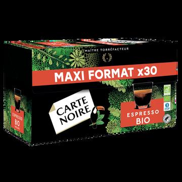 Carte Noire Café Capsules Carte Noire Bio Espresso - Compatible Nespresso - X30